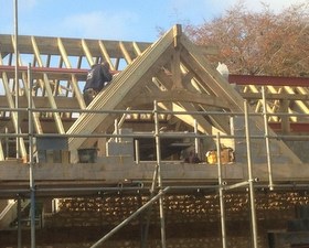 Hand Pitched Roof in Liphook by Arun Carpentry